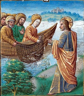 La pêche miraculeuse Vol 1 folio 134 v