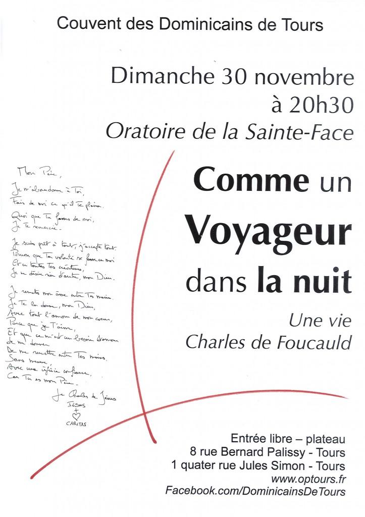 Affiche 30 novembre Lecture concert