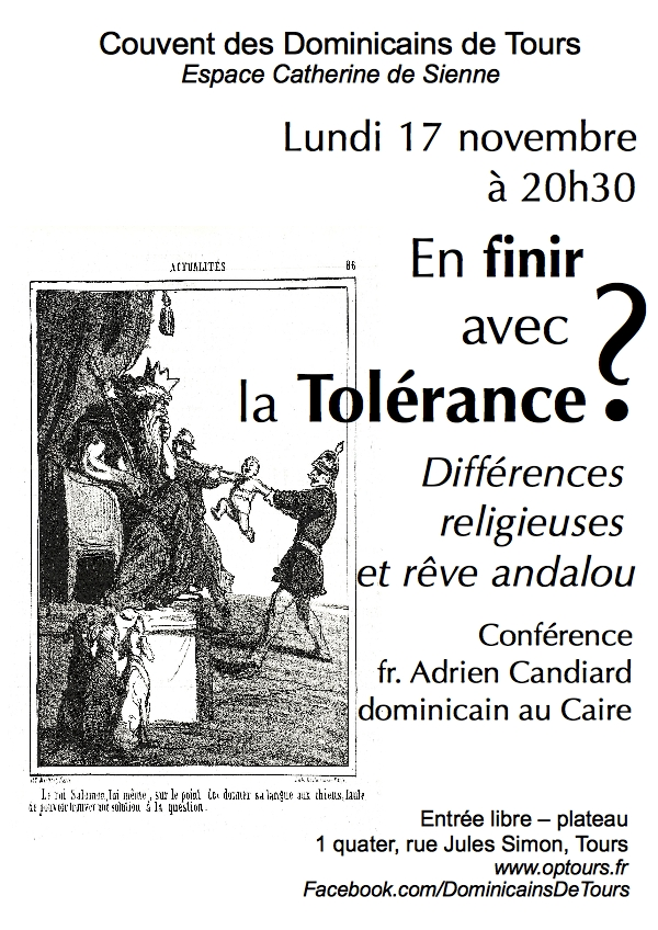 En finir avec la tolérance 17novembre