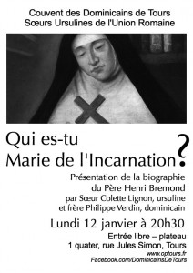 Affiche Marie Incarnation